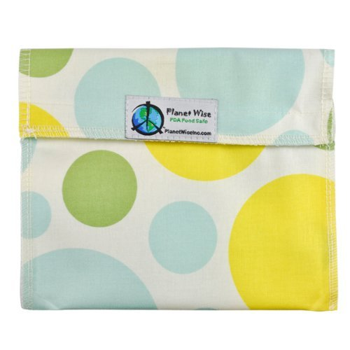 Planet Wise Reusable Sandwich and Snack Bags