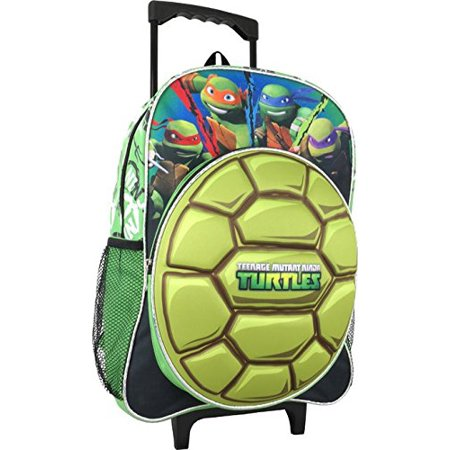 Ninja Turtle Backpack (Teenage Mutant Ninja Turtles Large 16 Rolling)