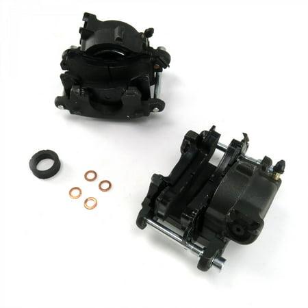 Helix GM Iron Single Piston Calipers - Pair wholesale amc 426 hemi circle track (Hemi Piston)