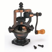 Woodturning Project Kit for Antique Hand Crank Pepper Grinder Mechanism