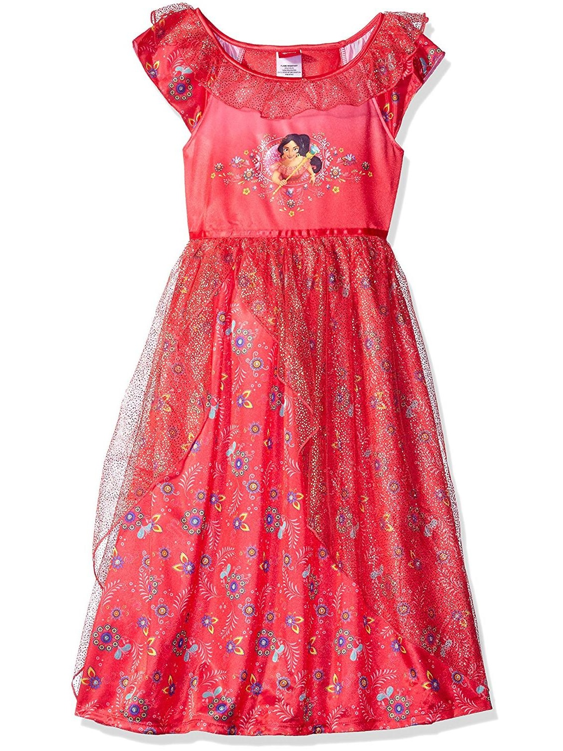 Disney Girls' Elena of Avalor Fantasy Nightgown