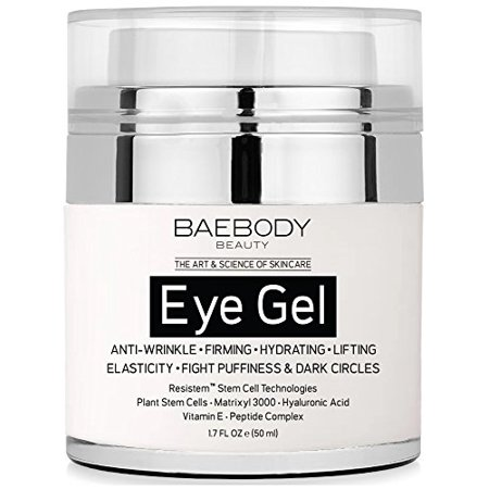 - Baebody Eye Gel for Dark Circles, Puffiness, Wrinkles and Bags - The Most Effective Anti-Aging Eye Gel for Under and Around Eyes - 1.7 fl oz