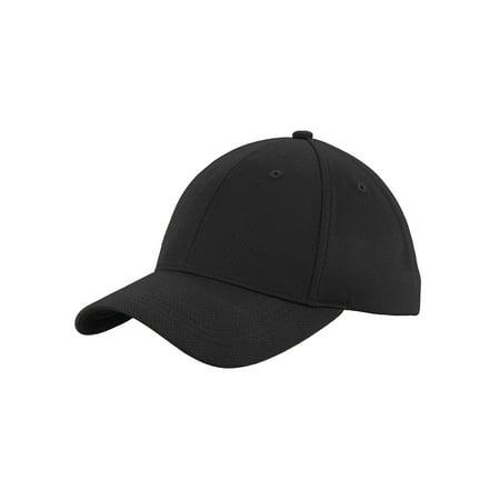 Top Headwear Moisture-Wicking Poly-Mesh Baseball Cap (Poly Mesh Cap)