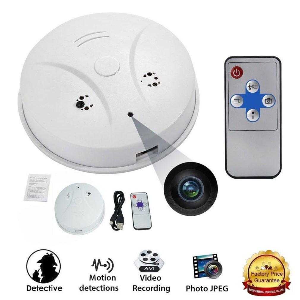 Fire Smoke Alarm Sensor Standalone Photoelectric Detector Home Security