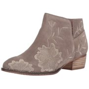 Seychelles Womens Lantern Suede Almond Toe Ankle Fashion Boots, Taupe, Size 10.0