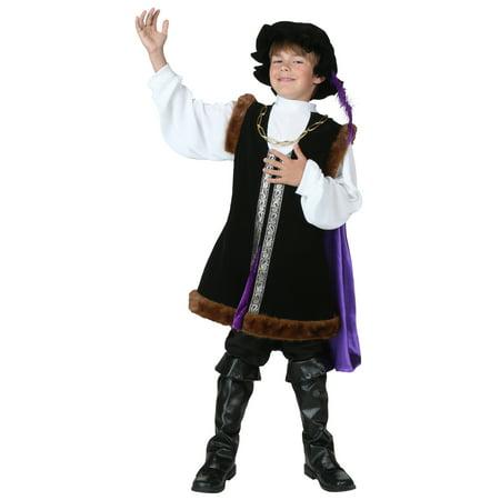 Child Noble Man Costume - Noble 6 Costume