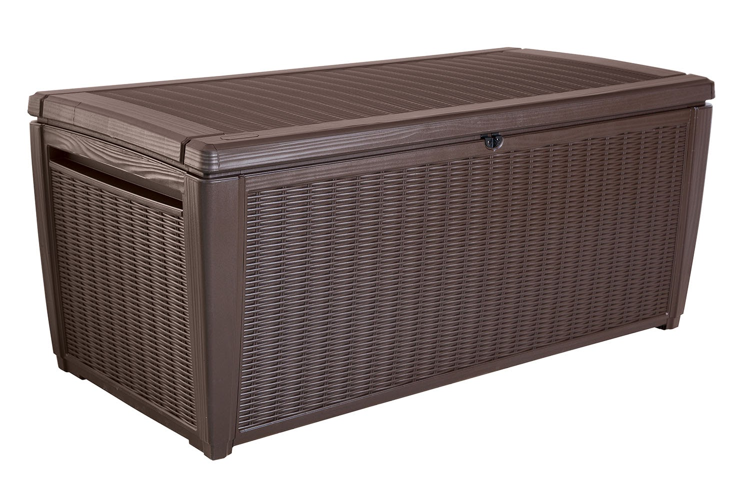 Keter Sumatra 135 Gallon Rattan Style Deck Box by Keter