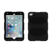Griffin iPad mini 4 Case with Stand, Black Survivor All-Terrain, [Rugged] [Protective] [Dual Layer] [Heavy Duty] [Shock Absorption] [Polycarbonate] [Silicone]
