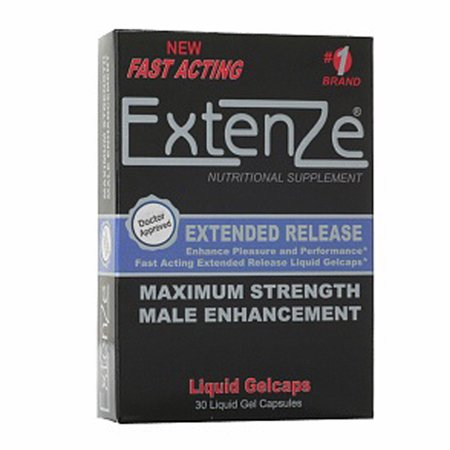Extenze Maximum Strength Male Enhancement  Extended Release Capsules  30 Ea