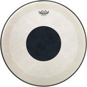 Remo 20 Powerstroke 3 Black Dot Coated Bass Drum Head