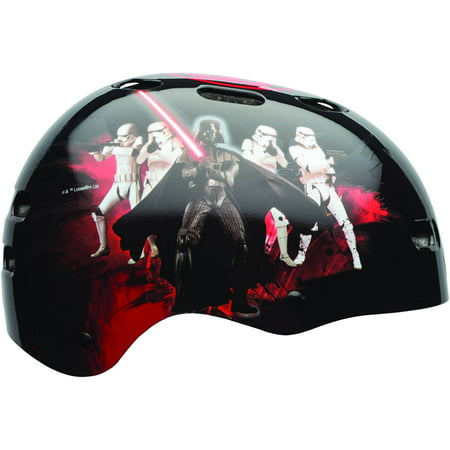 Bell Sports Star Wars Darth Vader Child Multisport Helmet, Black