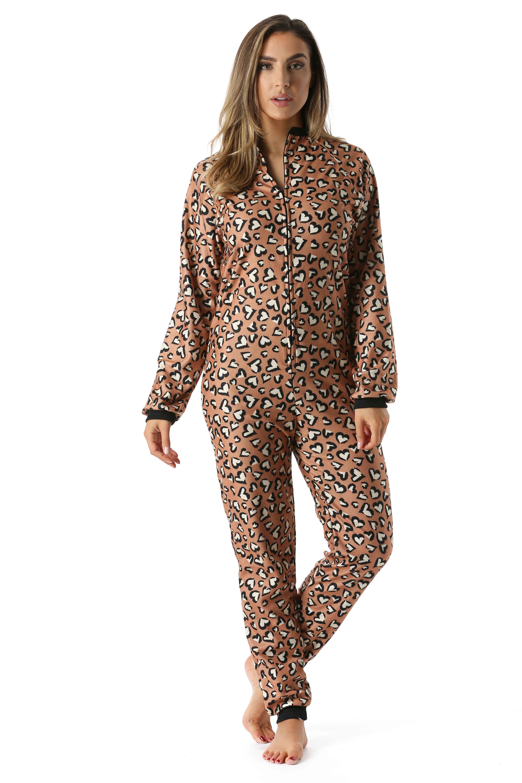 9c4525a37bad Just Love - Just Love Printed Flannel Adult Onesie   Pajamas ...