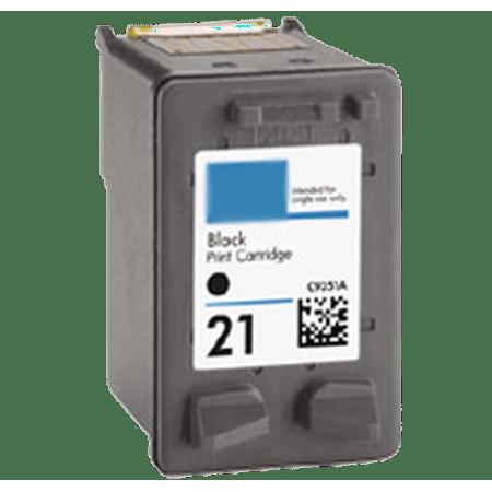 new compatible hp deskjet f300 hp c9351an 21 ink inkjet cartridge black. Black Bedroom Furniture Sets. Home Design Ideas