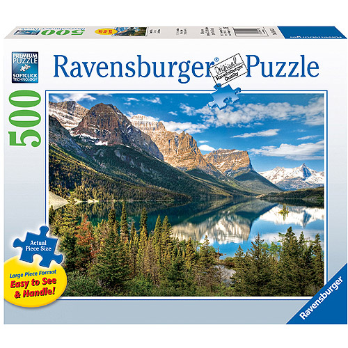 Ravensburger Beautiful Vista Large Format Puzzle, 500 Pieces