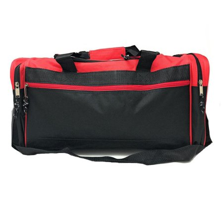 2d685c806cad 21 quot  Square Heavy Duty Duffle Bags Travel Sports School Gym Work  Luggage Carry-On - Walmart.com