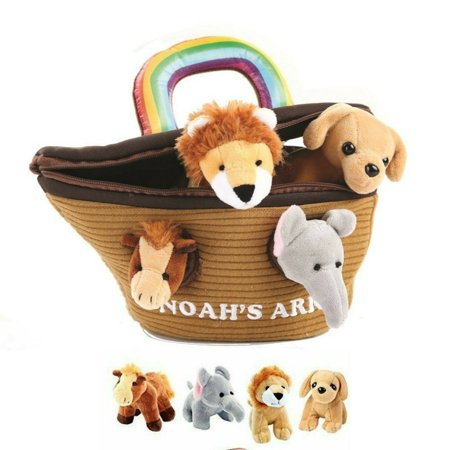 Noah's Ark Play Set - Plush Animals with