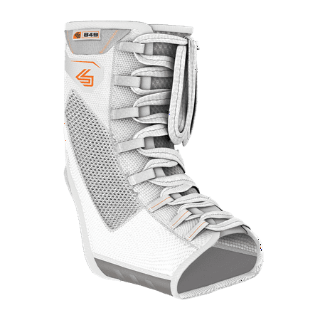 Shock Doctor 849 Ultra Gel Lace Ankle Support, Adult S, WHITE Wedge Ankle Lace