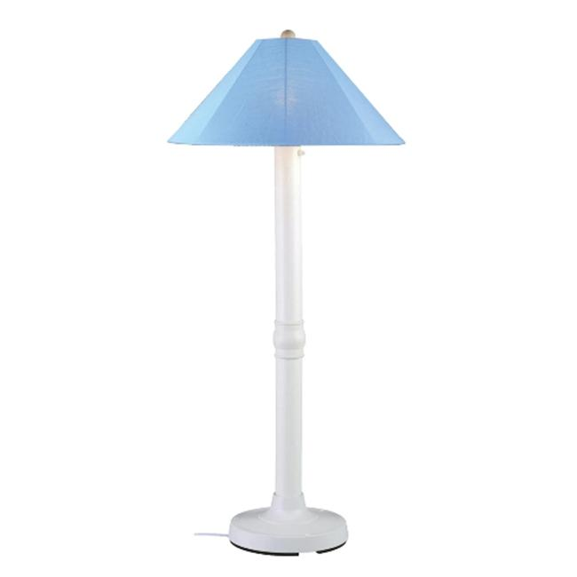 Patio Living Concepts 39681 Catalina 62'' Floor Lamp - White Body
