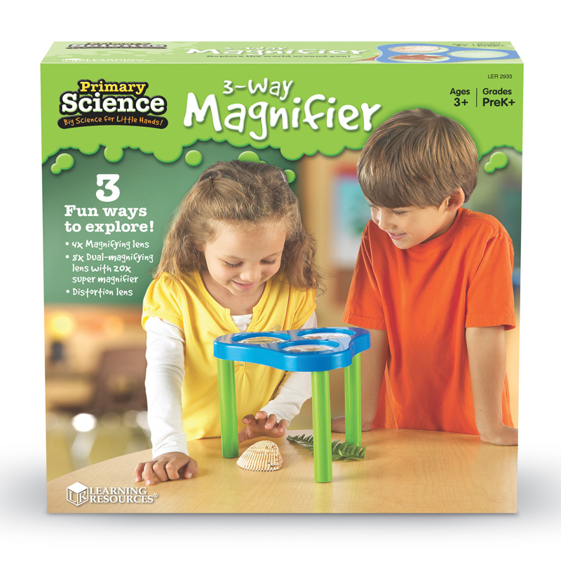 Learning Resources 3-Way Magnifier