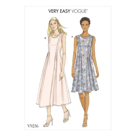 Vogue Pattern Vogue by McCalls' Sewing Pattern Misses' Dress-6-8-10-12-14 (Mccalls Halloween Sewing Patterns)