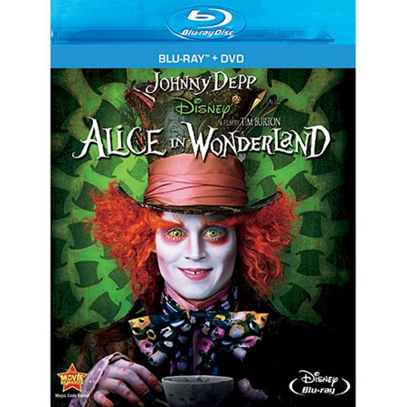 Alice In Wonderland (2010) (Blu-ray + DVD)