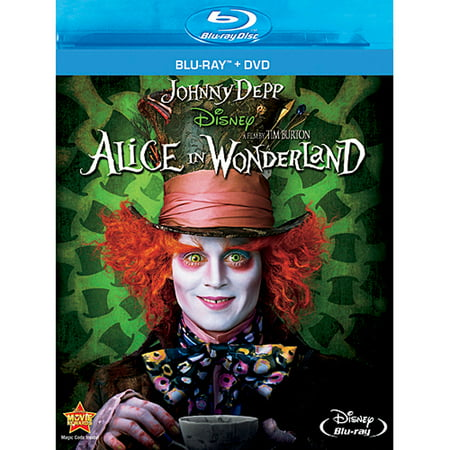 Alice In Wonderland (2010) (Blu-ray + DVD) - Classic Alice In Wonderland