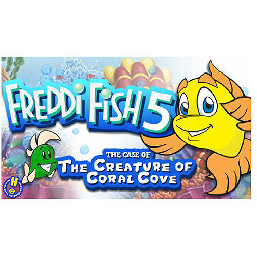 Tommo 58411017 Freddi Fish and the Creature of Coral Cave (PC/MAC) (Digital Code)