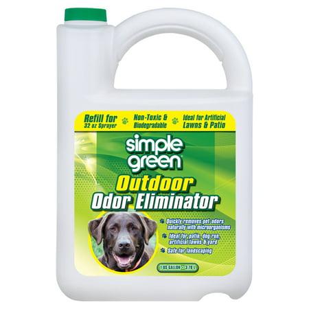 Cat Odor Eliminator - Simple Green 1 gal. Outdoor Odor Eliminator