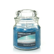 American Home by Yankee Candle Peaceful Beach, 12 oz Medium Jar
