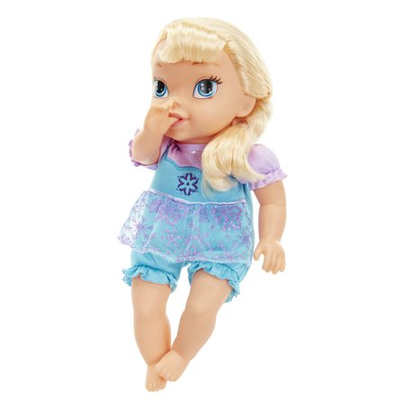Disney Frozen Deluxe Baby Elsa Doll - Queen Elsa Frozen Fever