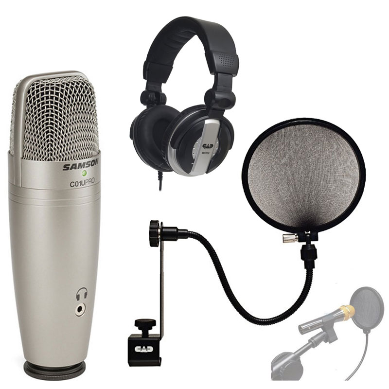 Samson C01U PRO USB Studio Condenser Microphone With CAD ...