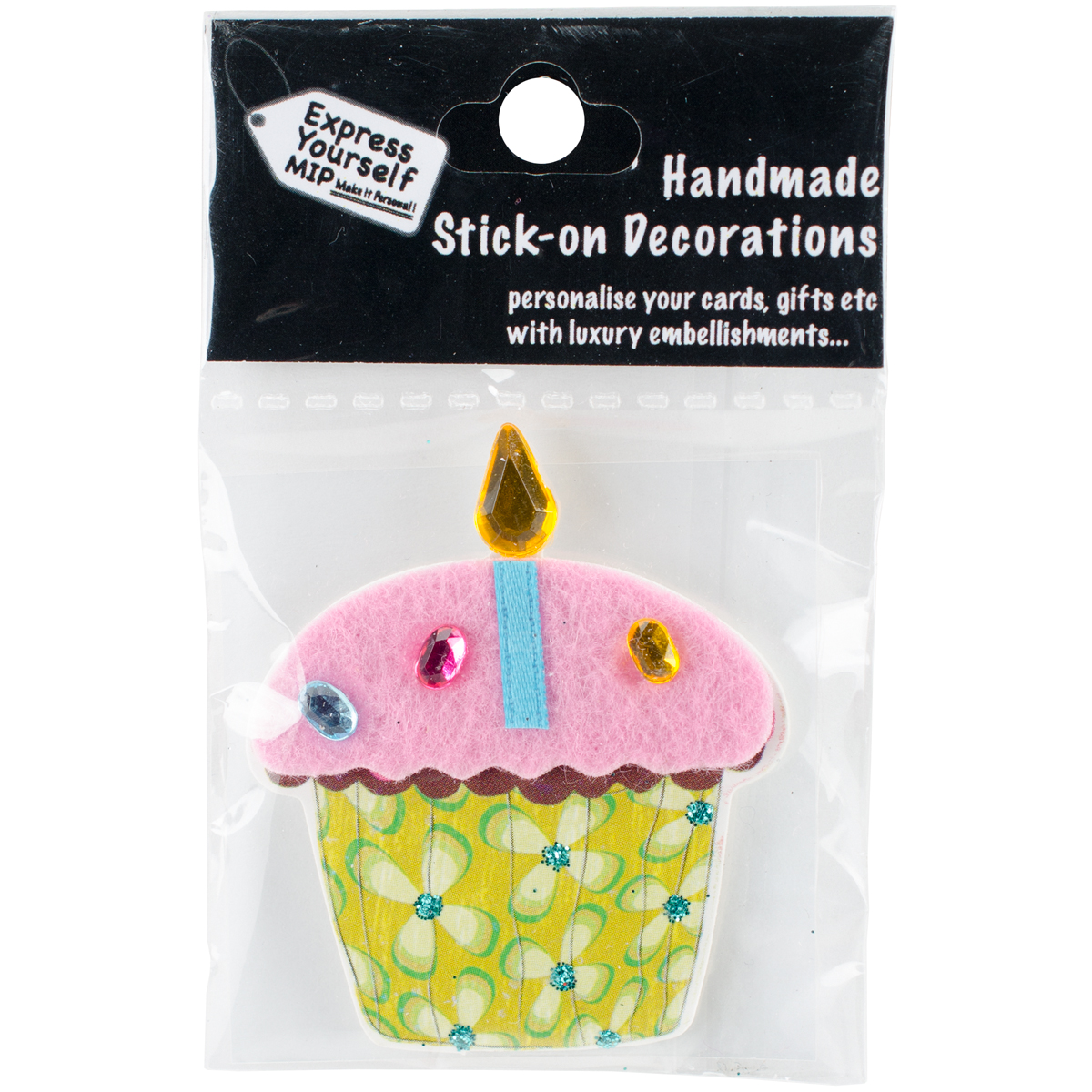 Express Yourself MIP 3D Stickers-Fairy Cake