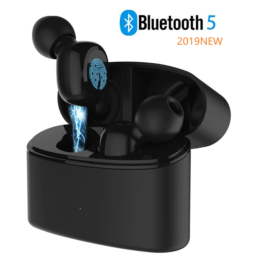 Wireless Earbuds, 5.0 Bluetooth Earbuds 15H Playtime 3D Stereo Sound Wireless Headphones, I0391