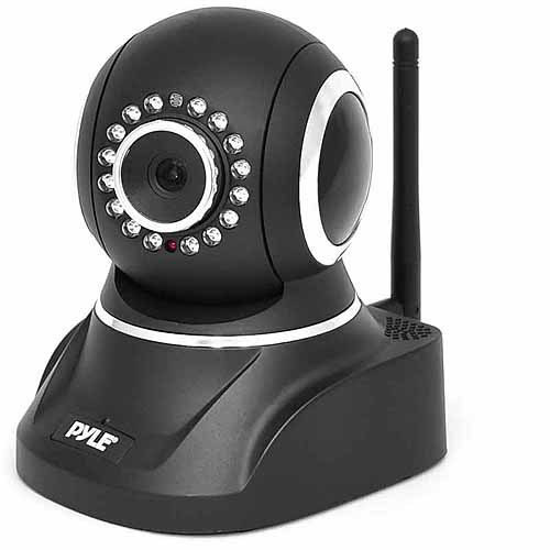 Pyle PIPCAM8 IP Camera Surveillance Security Monitor with WiFi