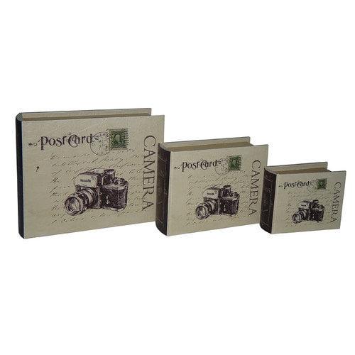 Cheungs Camera Book Box (Set of 3)