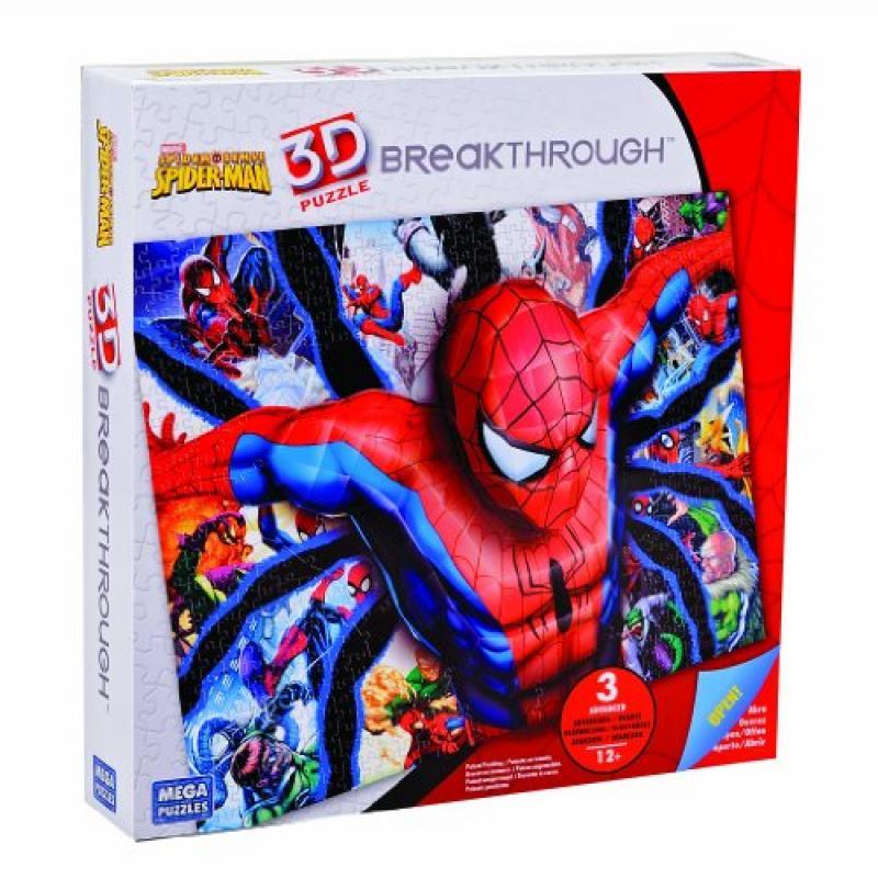 Mattel Breakthrough Level Three Spiderman Puzzle