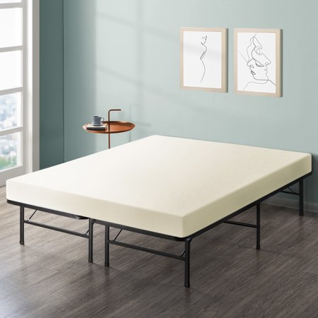 Best Price Mattress 6 Inch Memory Foam Mattress and Innovated Platform Metal Bed Frame Set, Multiple Sizes