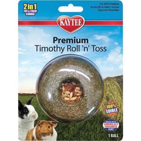Kaytee Products Inc-Kaytee Timothy Roll 'n' Toss Treat ()
