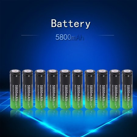 5800mAh 3.7v Li-ion Rechargeable 18650 Battery (Box of 10)