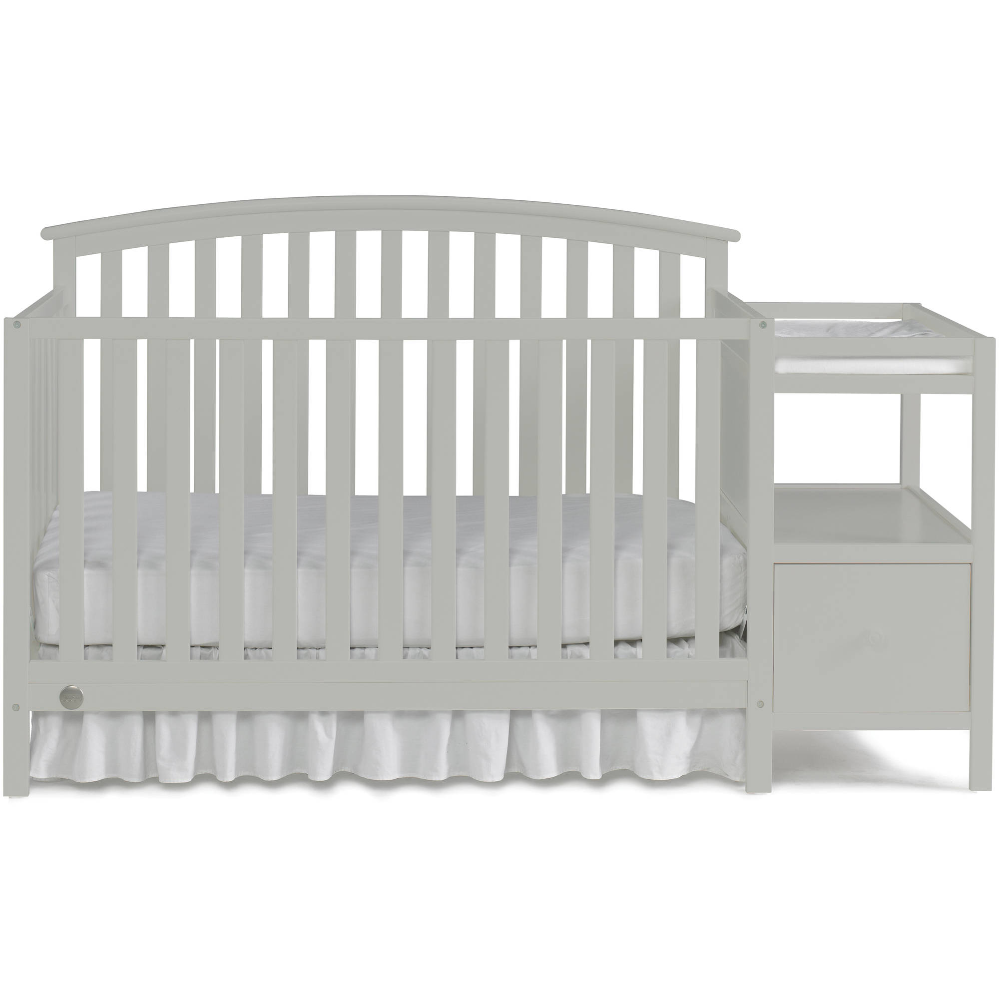 million crib baby convertible with white fisher shipping in price dollar grey ashbury rail sleigh manor free toddler