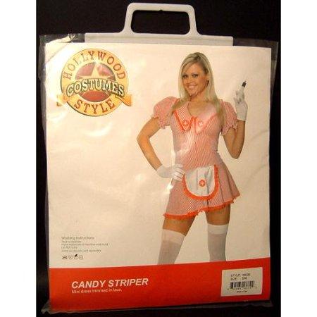 Striper Costumes (Sexy Candy Striper Adult)
