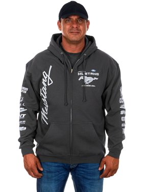 ecd980cfe6c Product Image Mens Ford Mustang Hoodies. Product Variants Selector.  Charcoal Gray. JH Design
