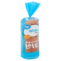 Great Value Enriched White Bread, 20 oz