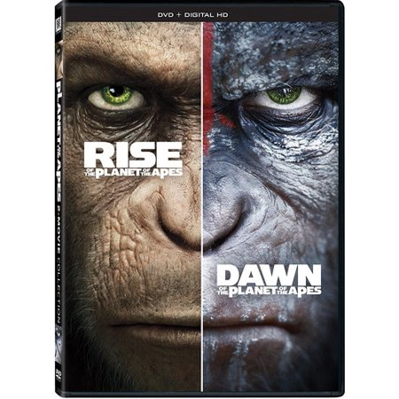 Rise of the Planet of the Apes / Dawn of the Planet of the Apes (DVD)
