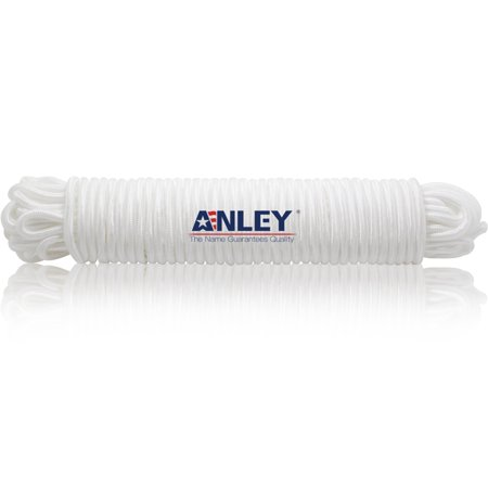 Anley Flag Accessory - White Rubber Coated Brass Swivel Snap Hook - Heavy Duty Flag Pole Halyard Rope Attachment Clip - for Tough Weather Conditions - 3.3 (Pole Snap)