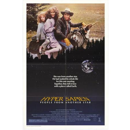 Hyper Sapien - movie POSTER (Style A) (11