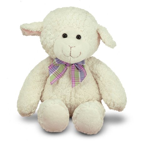 Melissa & Doug Lovey Lamb Stuffed Animal (16 inches)