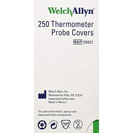 Welch-Allyn Disposable Probe Covers for SureTemp Plus 690 Thermometer - Qty of 250 (2