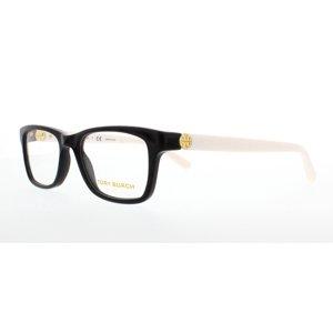 TORY BURCH Eyeglasses TY 2061 3149 Black|Ivory 49MM