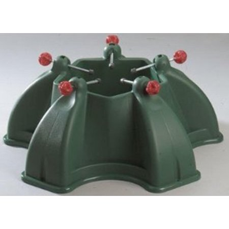 Heavy Duty Penta Green Christmas Tree Stand For Real